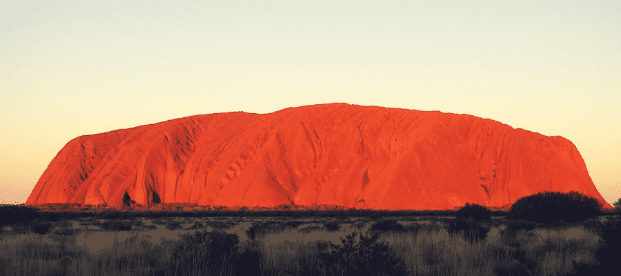 Ayers Rock, Australian outback