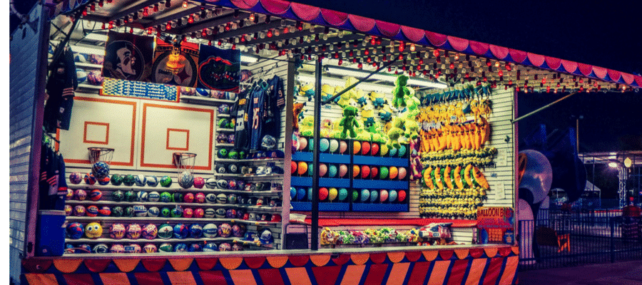 Carnival sideshow games