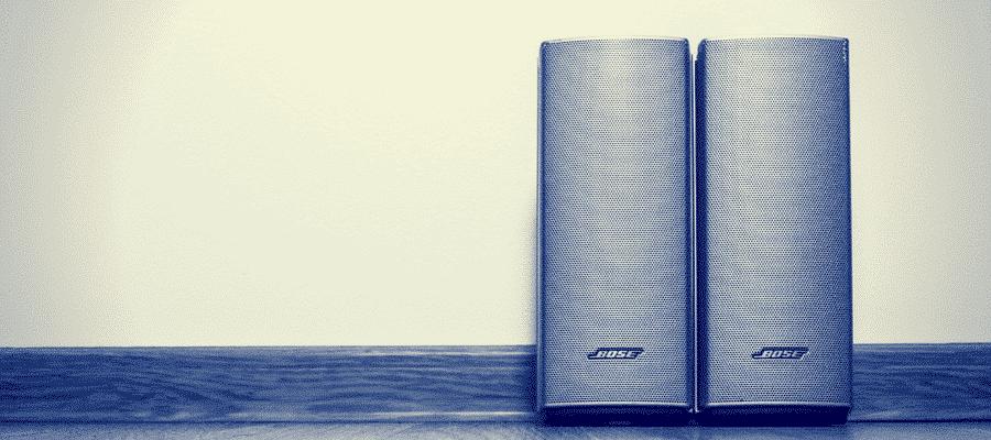 2 Bose speakers bluetooth