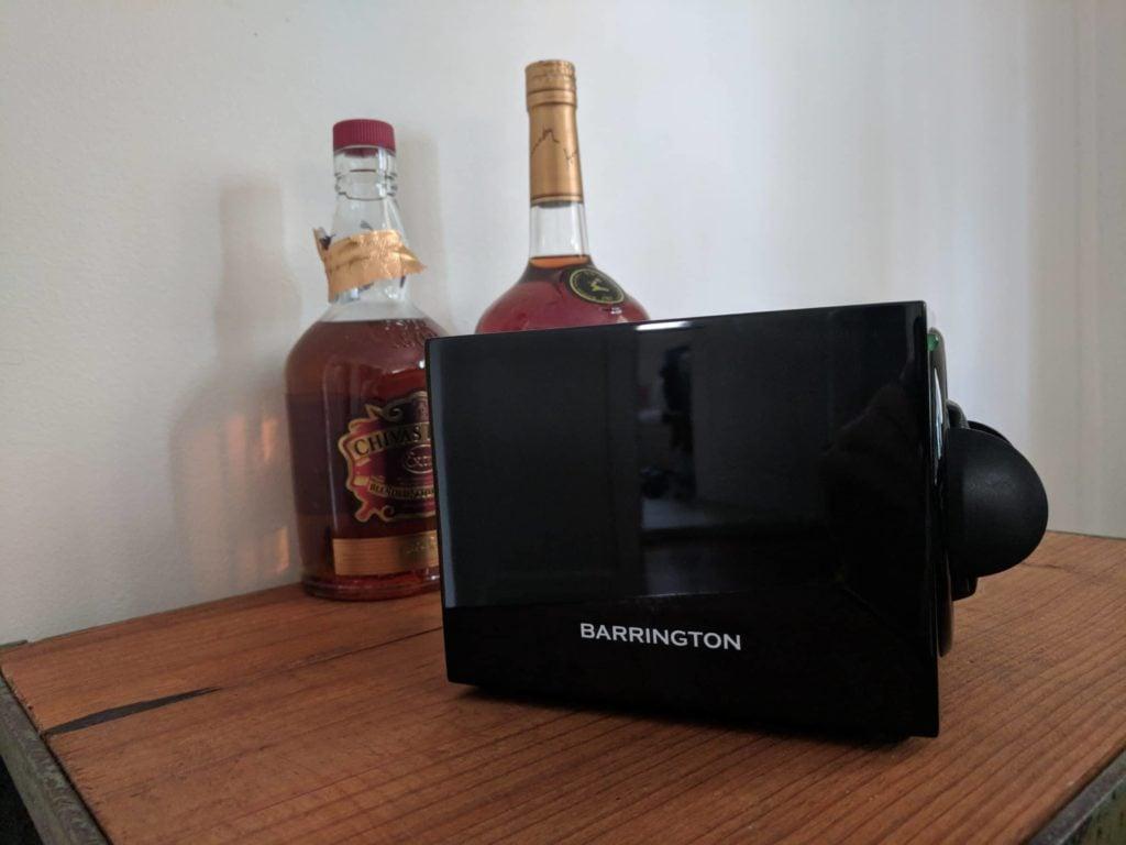 Barrington single watch winder side further