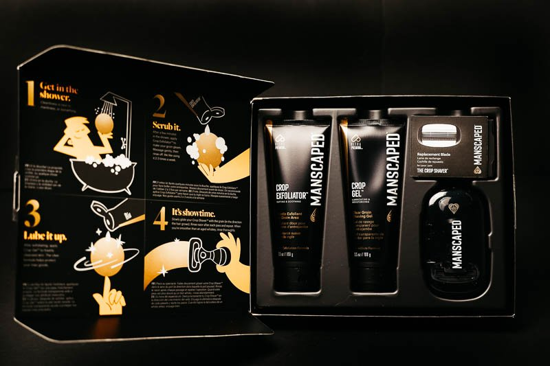 Manscaped ultra smooth package contents