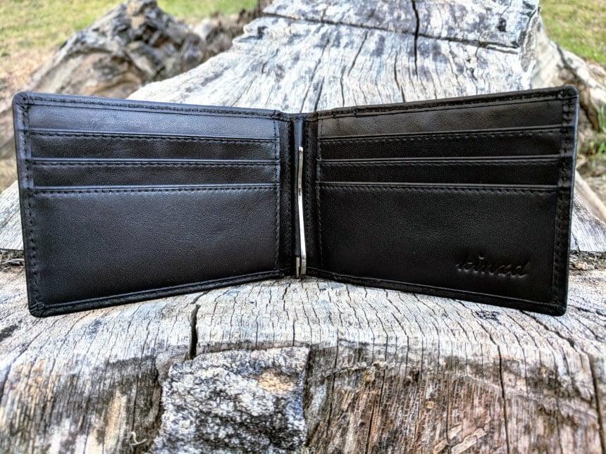 Kinzd Slim Wallet with Money Clip