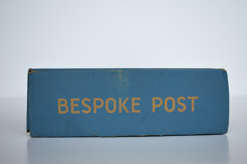 Bespoke Post Box Side on On White Background B