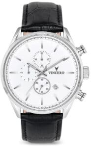 Vincero Chrono S in White and Black 1