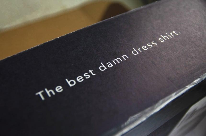 Mizzen+Main Dress Shirt Box