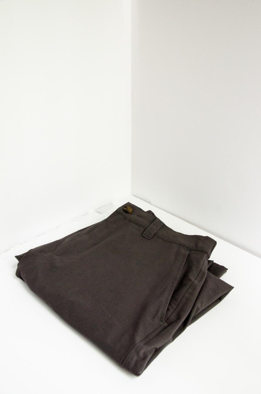 TravelSmith Original Flyaway Pants Folded Corner Wall Shot