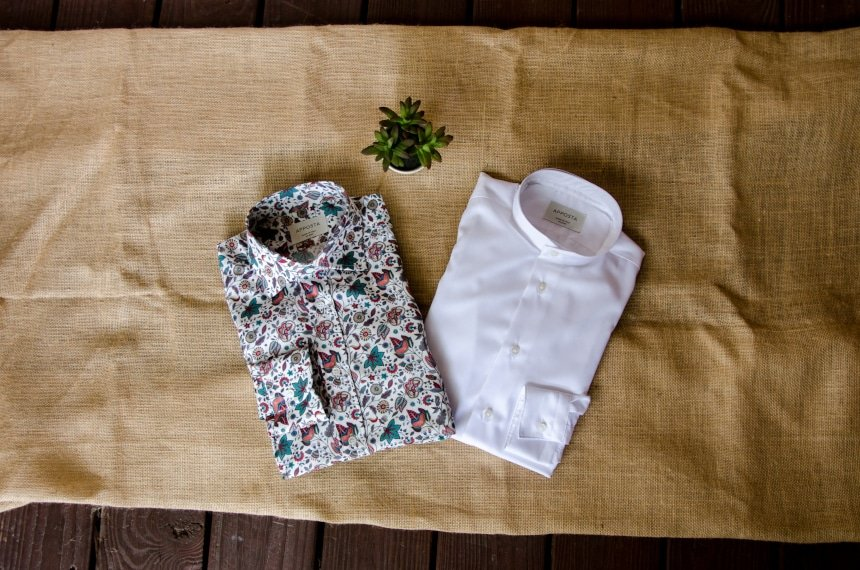 Apposta 100% Pure Cotton Poplin Floral And Coolmax Twill Folded Out of Box