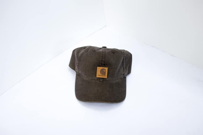 Carhartt Odessa Cap from front on white background