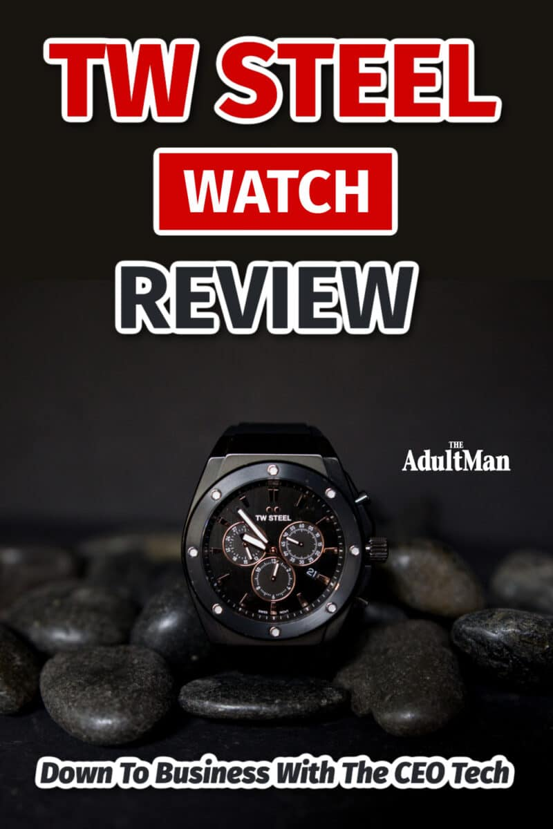 TW Steel Watch Review: Down To Business With The CEO Tech