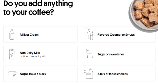 Trade Coffee Sign Up Process Screenshot D