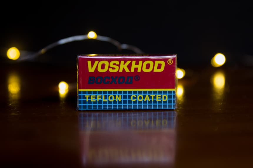 Voskhod Replacement Blades from The Personal Barber Subscription Box
