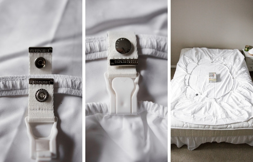 Bed Scrunchie Installation Process in Pictures