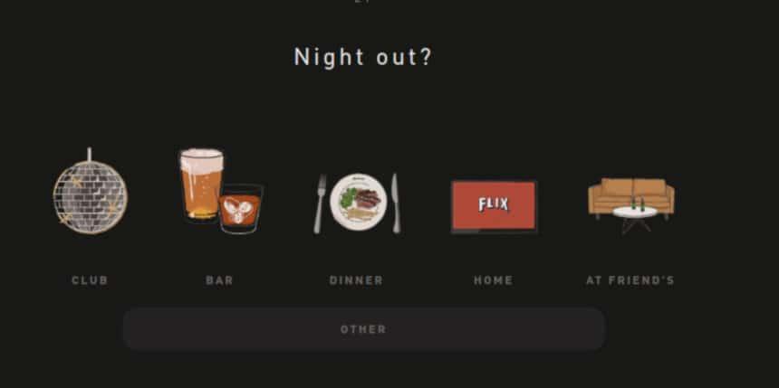 Hawthorne Quiz Screenshot Night Out