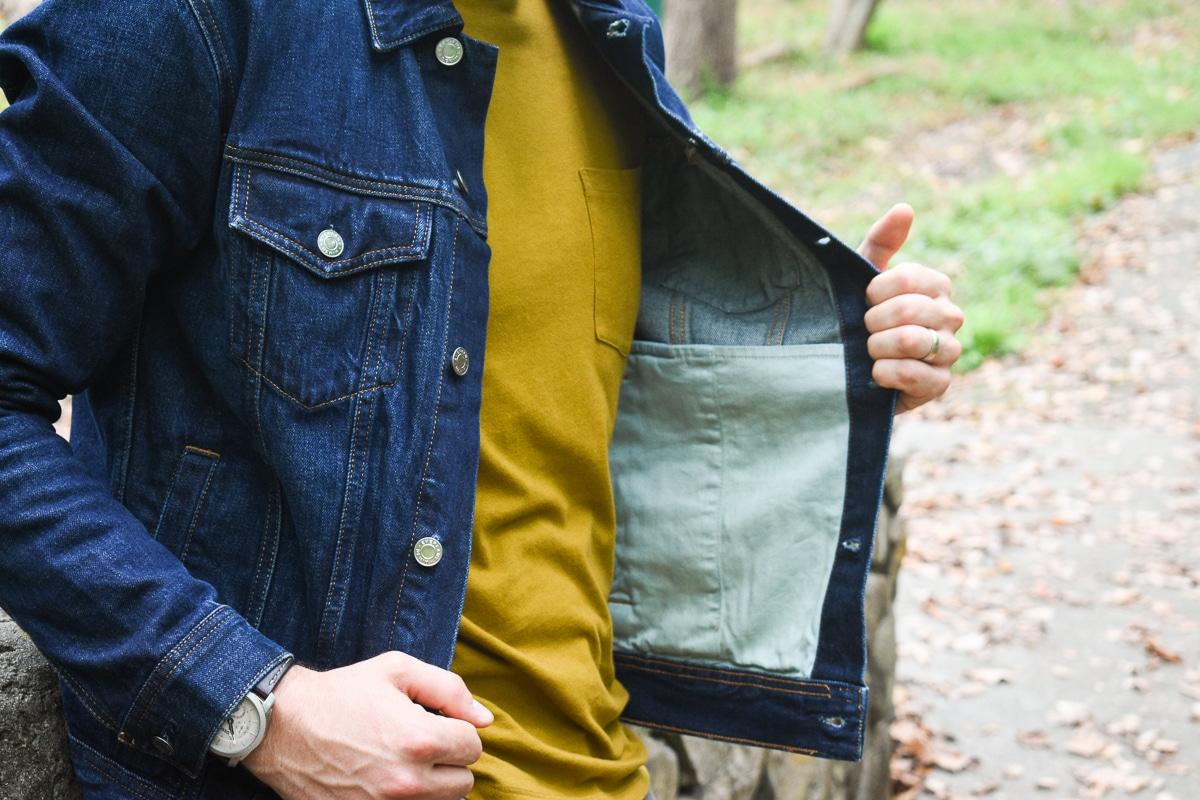 denim jacket interior