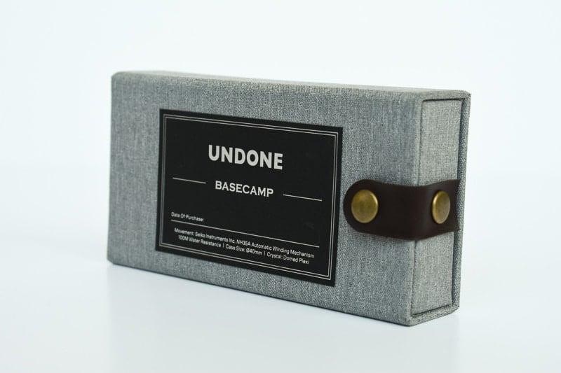 Undone Box Closeup