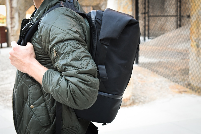 shift pack from the side
