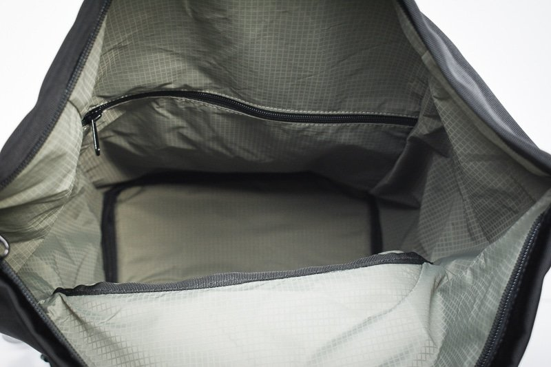 shift pack main compartment