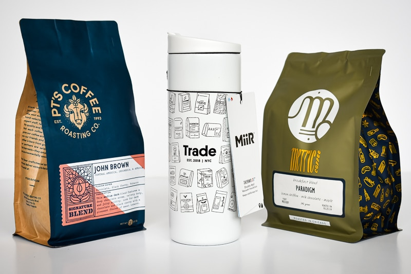 trade miir tumbler plus two coffees