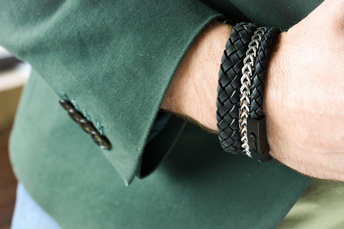 The 4 Best Men's Bracelets: Rock Them Like These 7 Celebrities