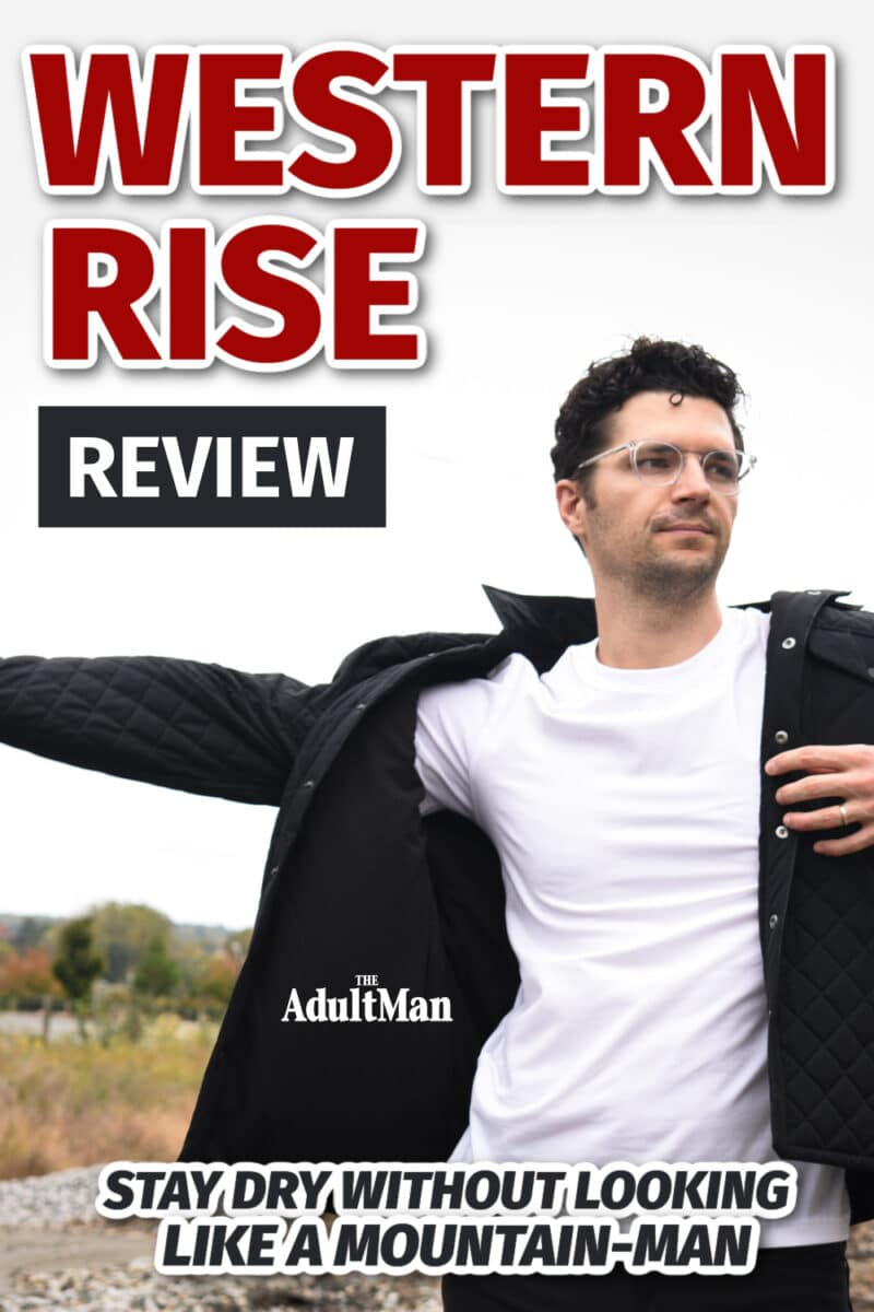 Western Rise Review: Stay Dry Without Looking Like a Mountain-Man