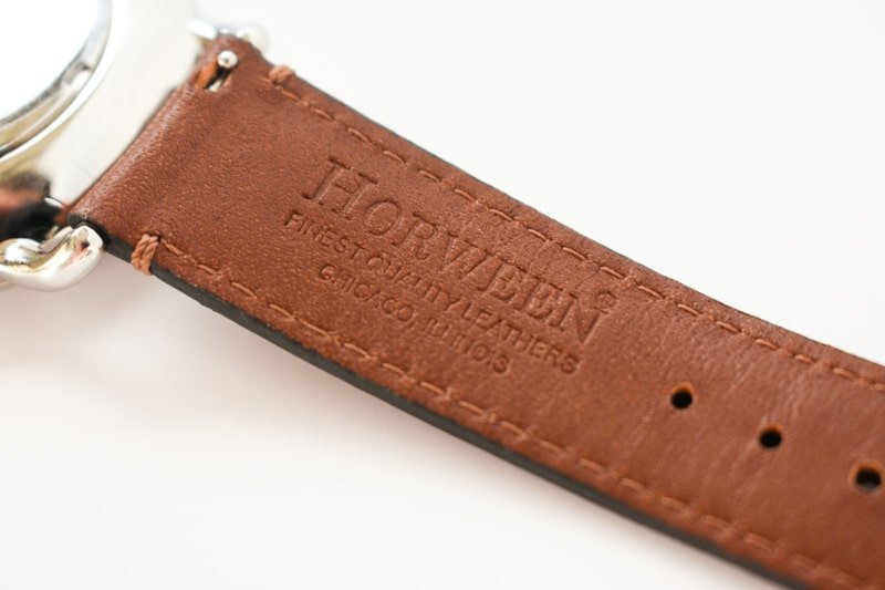 Wolfpoint horween tannery leather strap