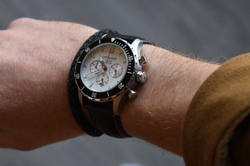 jack mason halyard sport crown detail on wrist