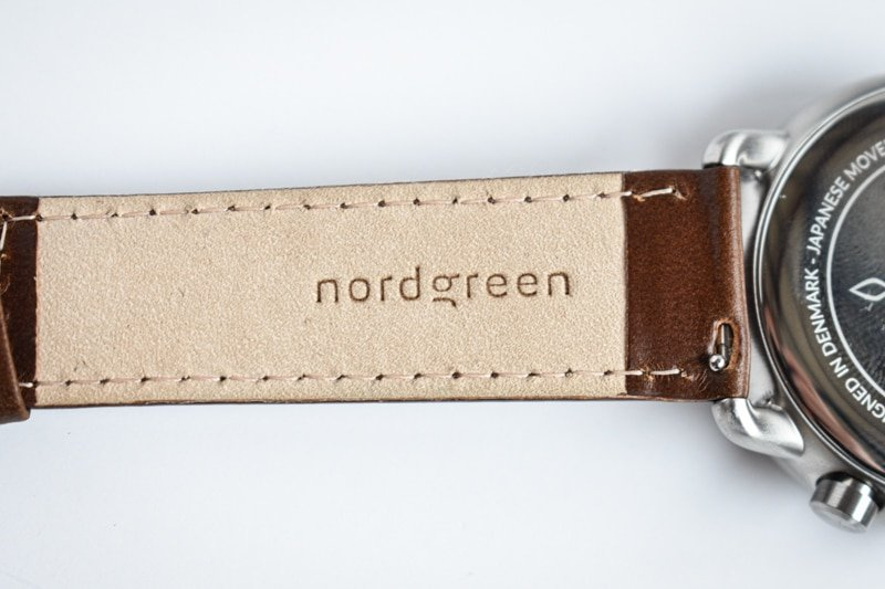 nordgreen leather strap