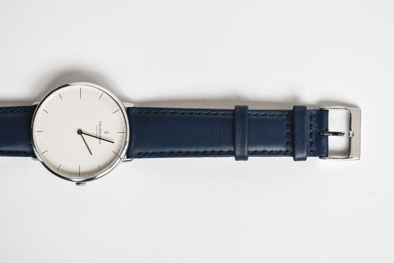 nordgreen native with blue strap