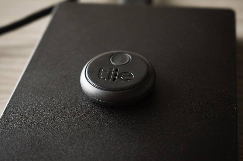 Tile Sticker on Hard drive