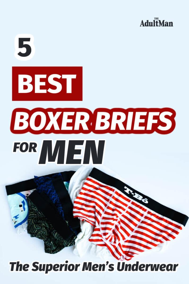 5 Best Boxer Briefs for Men in 2021: The Superior Men's Underwear
