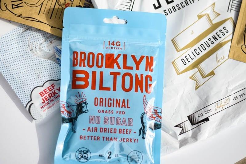 Brooklyn biltong packaging