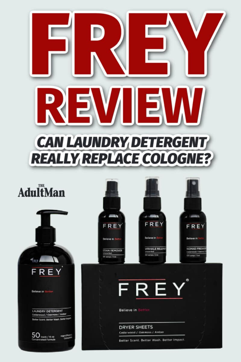 FREY Review: Can Laundry Detergent Really Replace Cologne?