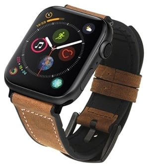 NEXT Hybrid Leather Sport Band for Apple Watch® 42mm and 44mm Brown WHBB04201