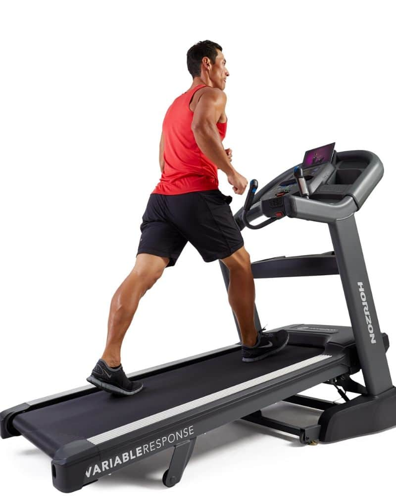 man in red shirt incline feature