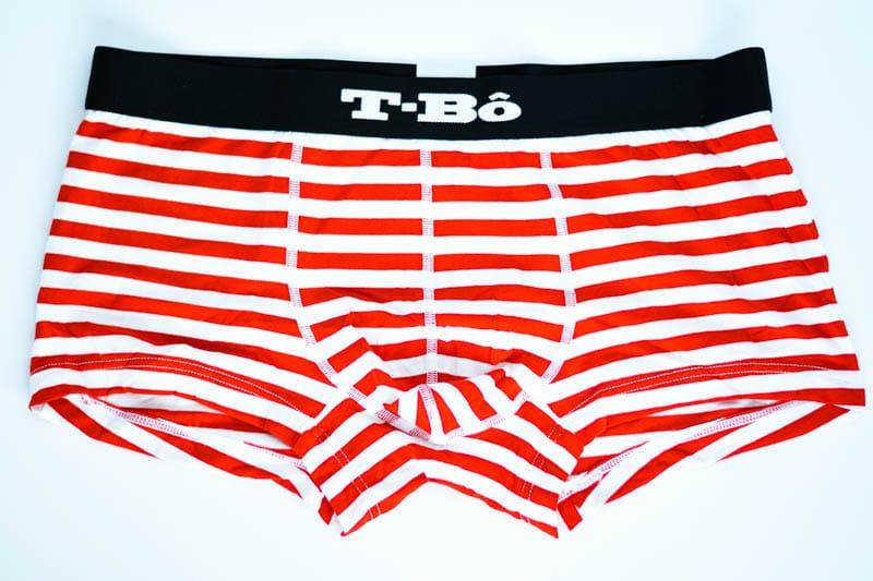 t bo molten lava red stripe trunks