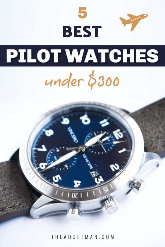 Best Pilot Watches Under 300