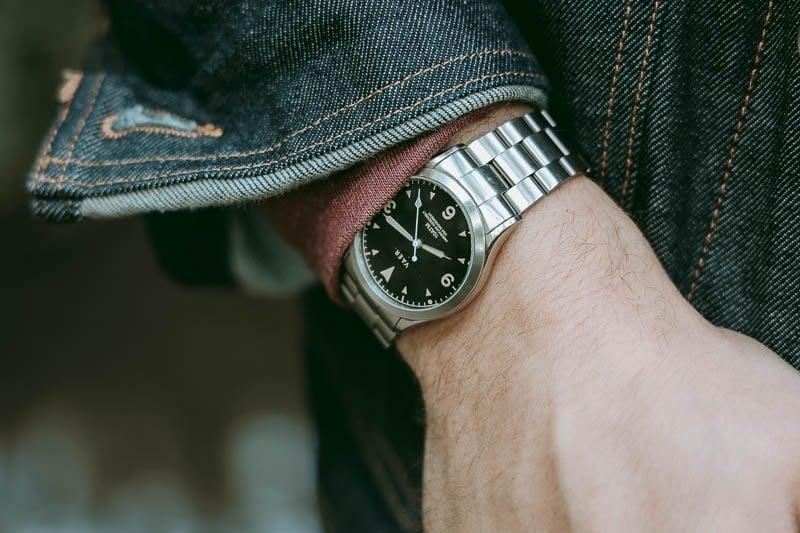 Vaer c3 on wrist