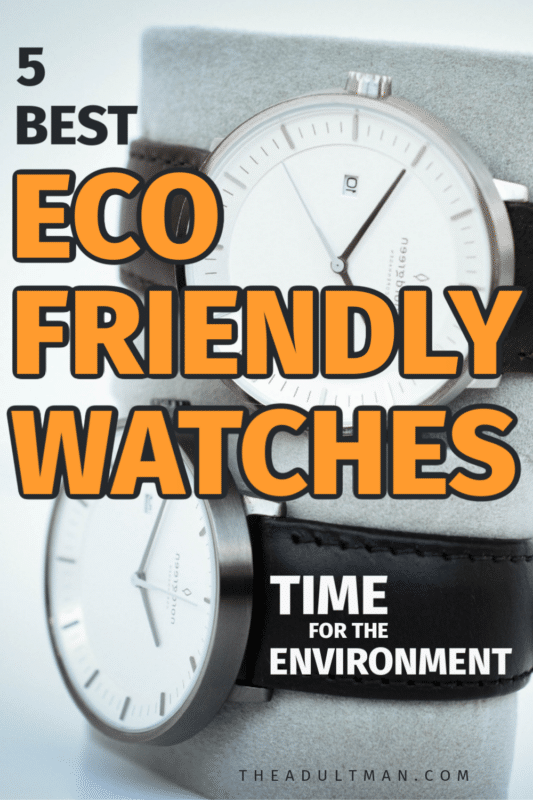 5 Best Eco-Friendly Watches in 2020: Time for the Planet
