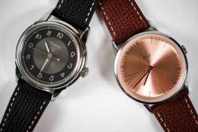 Best microbrand watches multiple vario watches crossed over eachother