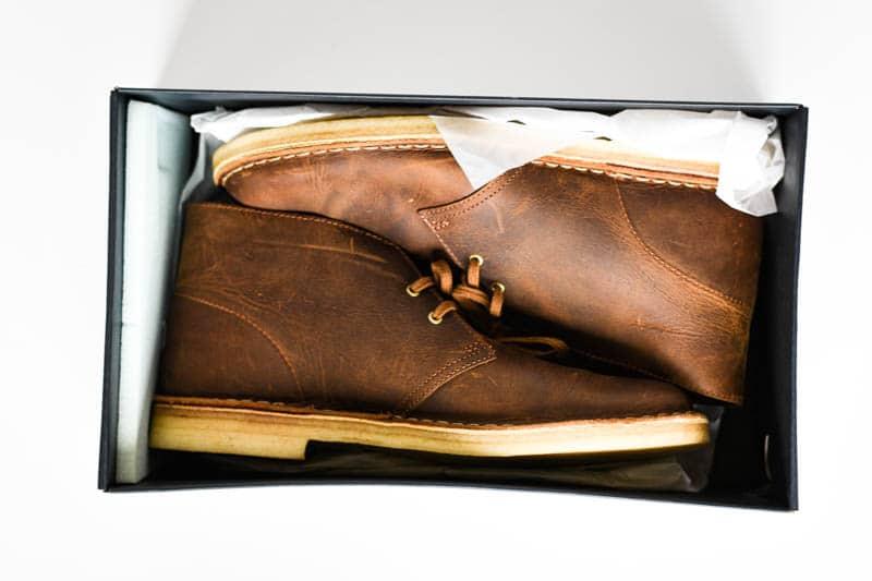 Clarks desert boot in