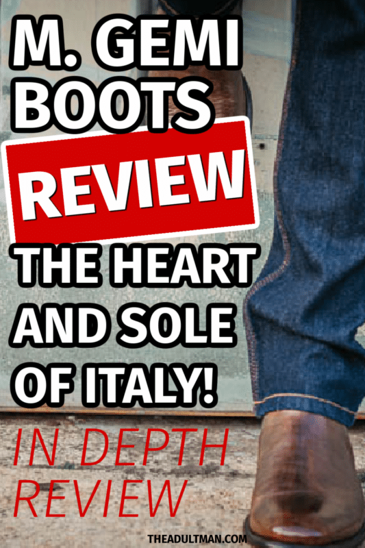 M.Gemi Boots Review: The Heart and Sole of Italy
