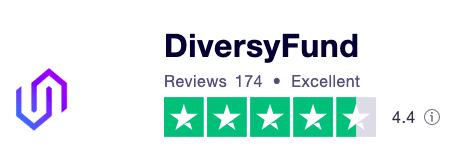 DiversyFund Trustpilot Rating