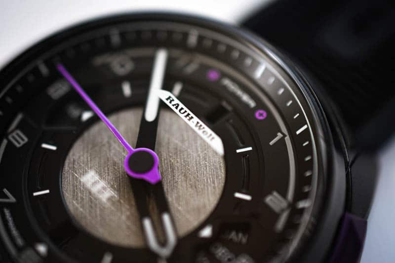 rec watches crystal printing