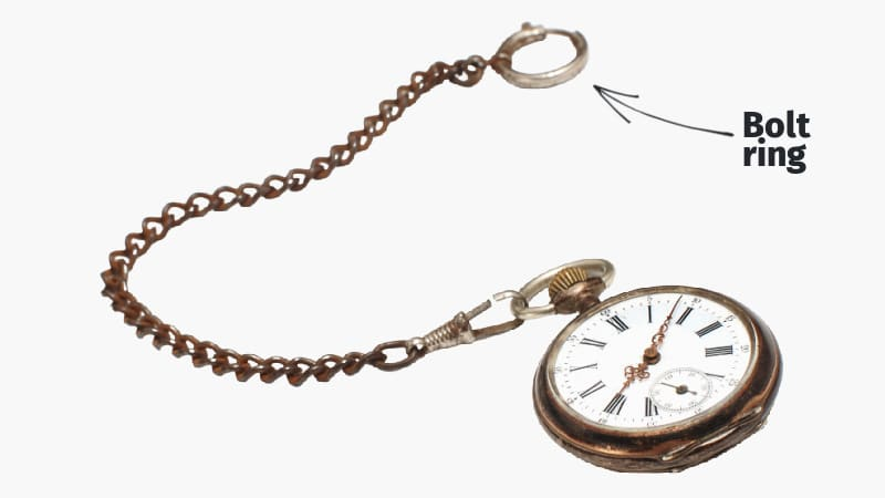 Bolt ring pocket watch diagram