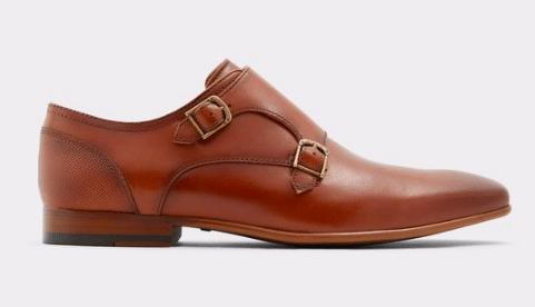 Aldo aldershof monk strap shoe