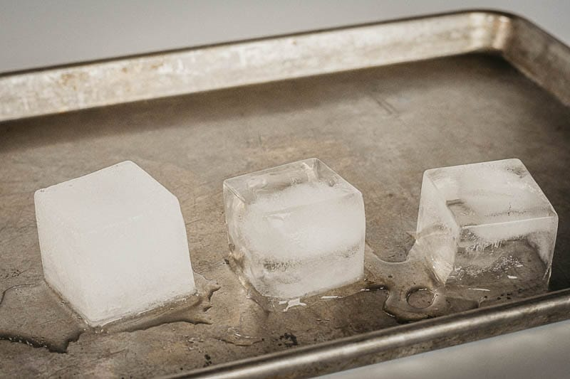 Bespoke Post Alchemy ice cubes boiled vs tap 1