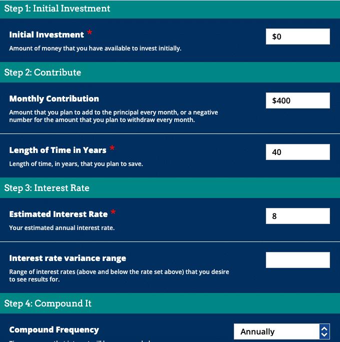 Diversyfund Compound Interest Calculator