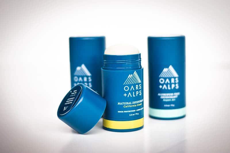 Oars Alps deo trio deodorant for men california mist