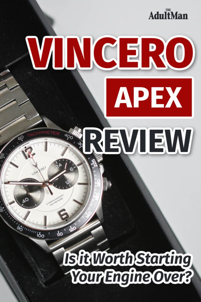 Vincero Apex Review: Is it Worth Starting Your Engine Over?