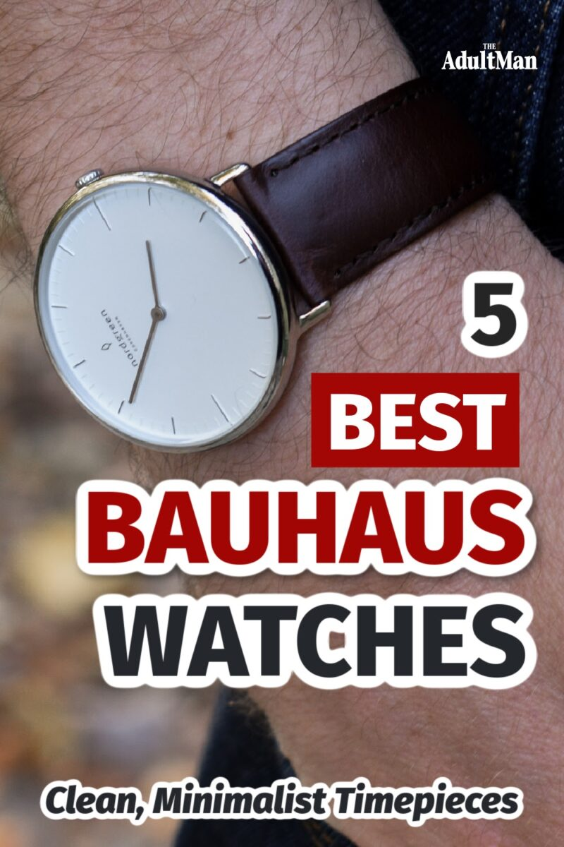 5 Best Bauhaus Watches: Clean, Minimalist Timepieces
